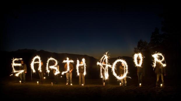 earthhoursparklers