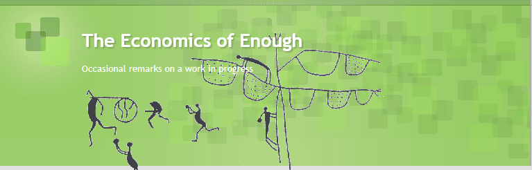 economics of enough