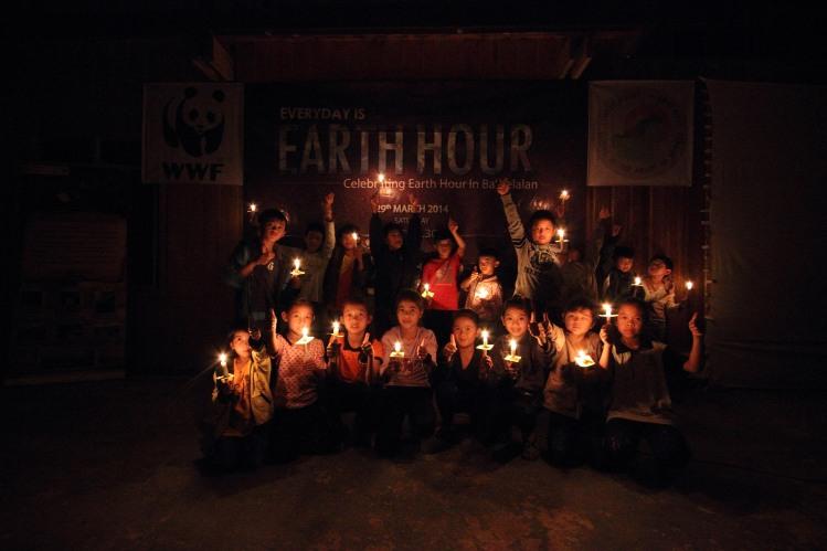 kids earth hour