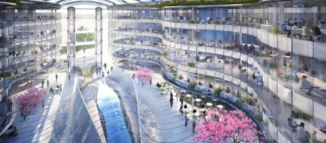 Biomimetic Office Building - Exploration Architecture